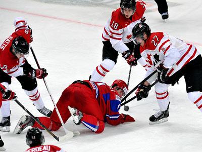 Россия проиграла Канаде - 1:4