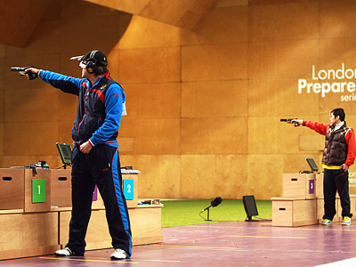 Олимпийское стрельбище пока пугает