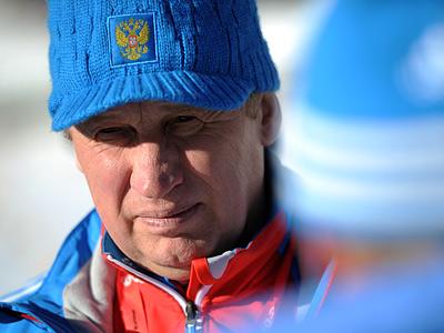 Главный тренер сборной России по биатлону Валерий Польховский - о ЧМ