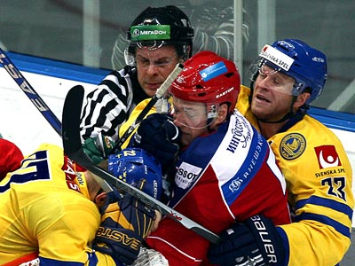 Никулин: со 2-го периода показывали яркий хоккей