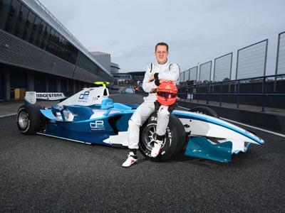 Болид GP2 поможет звёздному уик-энду Формулы-1
