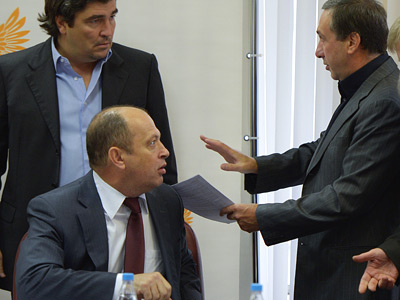 Сергей Прядкин и Евгений Гинер
