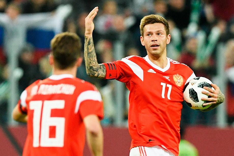 Товарищеский матч. Россия – Франция — 1:3