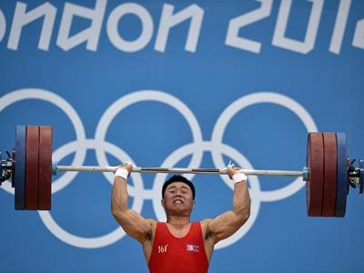 Лондон 2012. Тяжёлая атлетика. Ким Ынгук