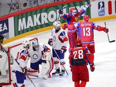 Второй раз на этом чемпионате мира Россия обыграла Норвегию