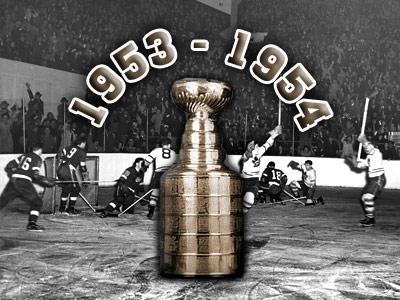 Кубок Стэнли. Часть 62. 1953-1954