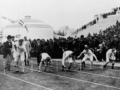 Олимпийские виды спорта от Древней Греции до Лондона-2012