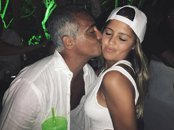 Ромарио с дочерью