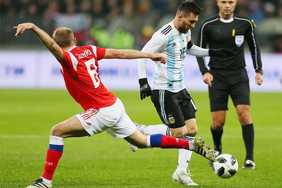 Россия – Аргентина – 0:1. 11 ноября 2017 года