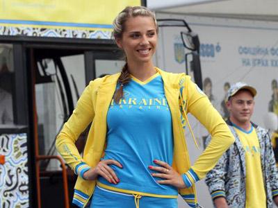 Украинцы представили олимпийскую экипировку