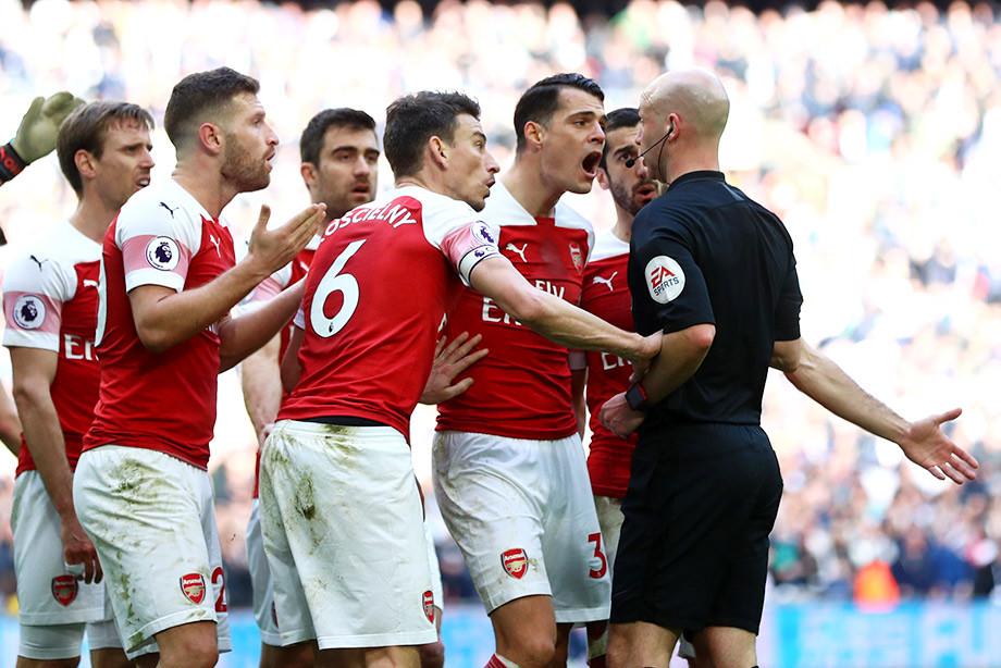 Судья и Льорис украли у «Арсенала» победу в дерби