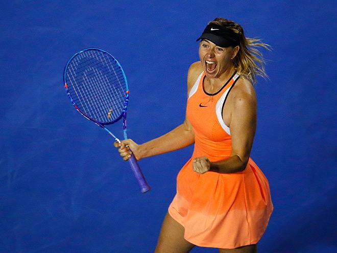 Шарапова вышла в четвертьфинал
