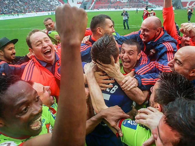 ЦСКА выиграл чемпионат России