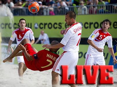 Россия выиграла Кубок Европы по пляжному футболу