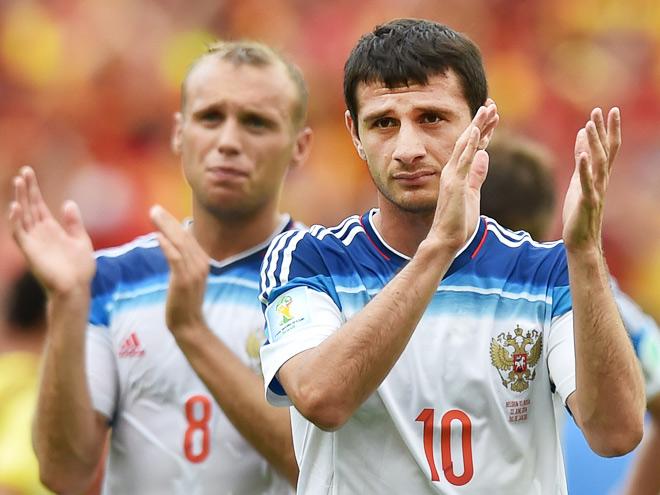 Бышовец об игре сборной России в матче с Бельгией