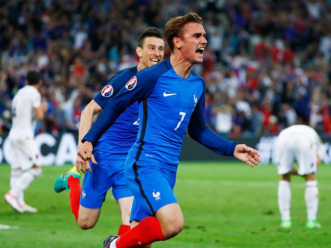 Франция – Албания – 2:0