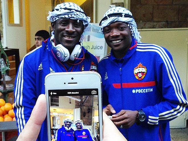 Сейду Думбия и Ахмед Муса