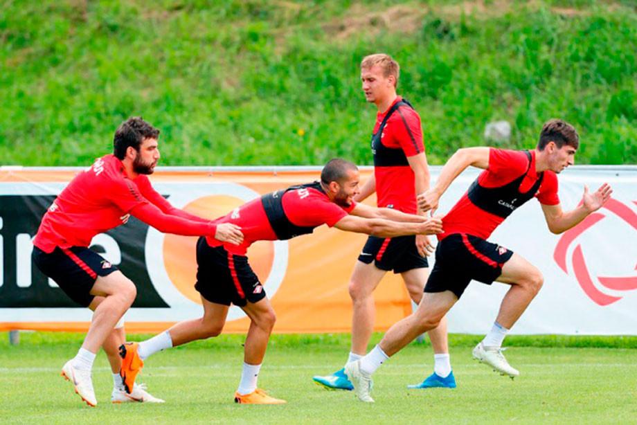 Тренировка «Спартака»