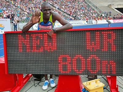 Рудиша превзошёл мировой рекорд Кипкетера