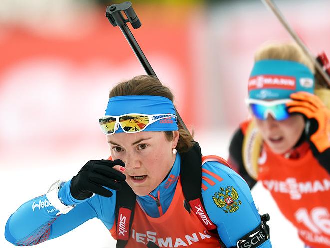 Дорен-Абер выиграла масс-старт на чемпионате мира, Юрлова – 13-я