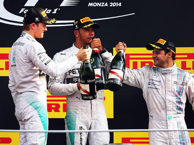Расстановка сил в Формуле-1 на Гран-при Италии