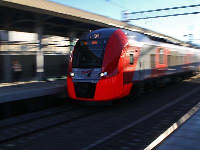 """Сочи-2014. Как работает скорый поезд """"Ласточка"""""""