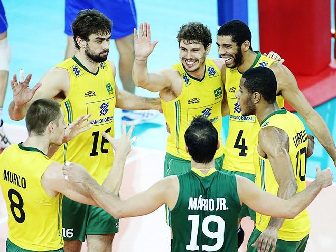 Мировая лига. Италия — Бразилия — 0:3