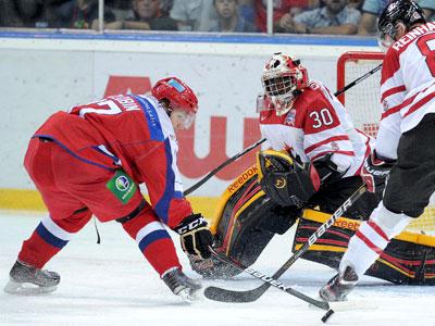 Молодёжные сборные Канады и России встретились в Ярославле
