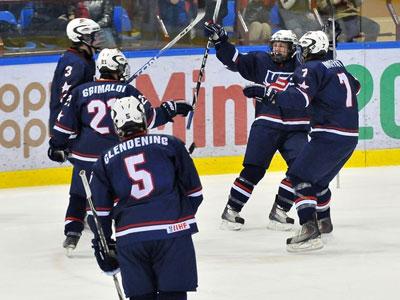 U-18: в финале сойдутся США и Швеция