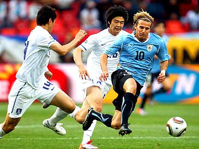 Уругвайский натиск против корейского упорства