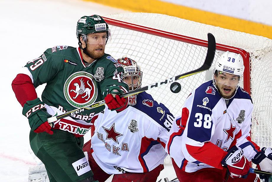 «Ак Барс» нацелился на 4-0. У ЦСКА всё плохо