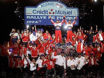 Лёб — девятикратный чемпион после Ралли Франции