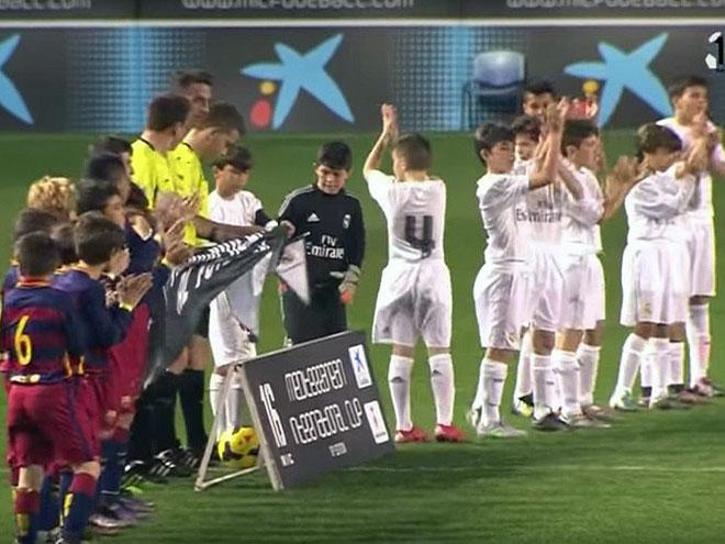 Как играли дети «Барселоны» и «Реала»