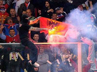 Хорватия – Сербия и другие матчи повышенного риска