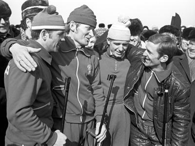 Обзор выступлений россиян в мужских эстафетных гонках