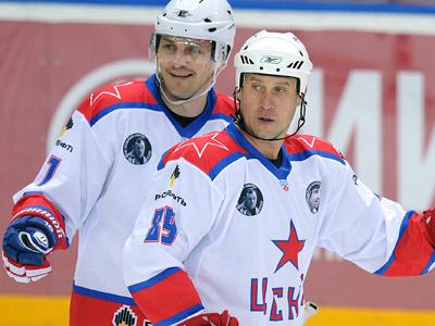 Сергей Фёдоров и Александр Могильный