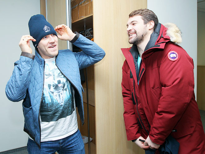 Даугавиньш и Карсумс в гостях у «Чемпионата»