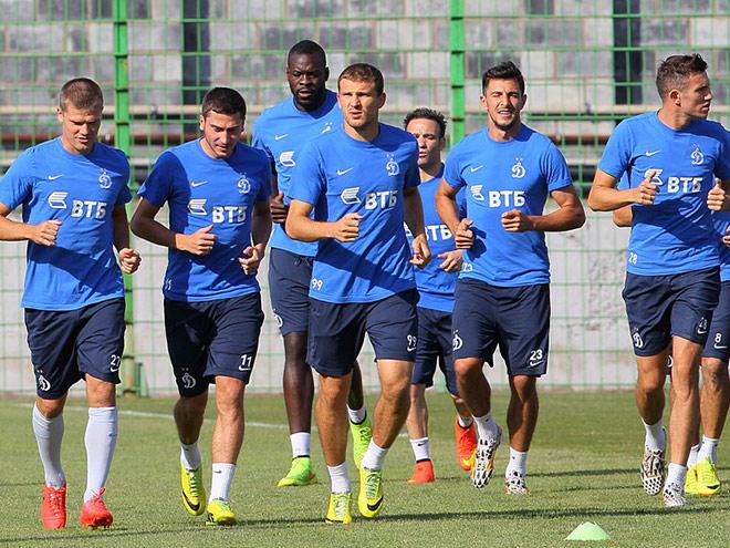 Тренировка «Динамо»