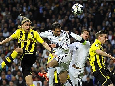 «Боруссия» проиграла в Мадриде, но вышла в финал