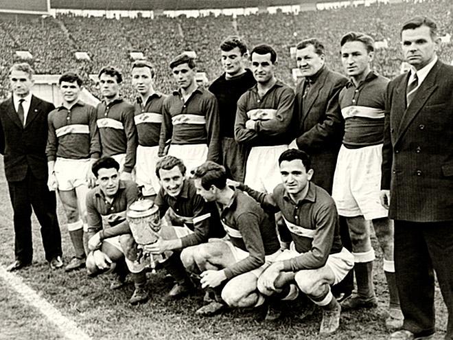 «Спартак» — обладатель Кубка СССР — 1958