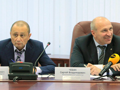 Александр Мейтин и Сергей Чебан