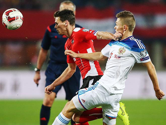 Австрия – Россия. Обзор матча – 1:0