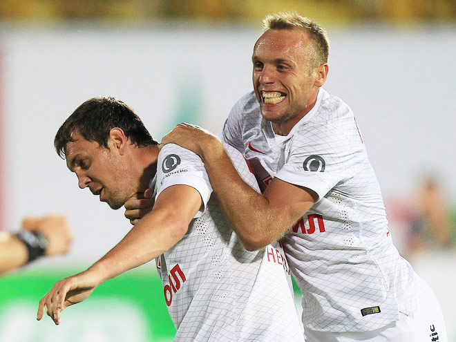 Дзюба и Глушаков