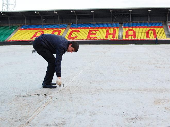 «Сатурн», «Рубин» и «Родина» - инспекция стадионов