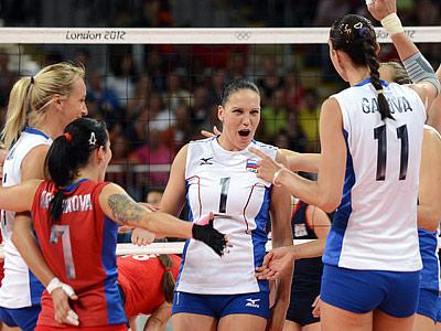 Женская сборная России переиграла на Олимпиаде Великобританию - 3:0