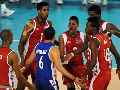 Россия проиграла Кубе в матче Мировой лиги