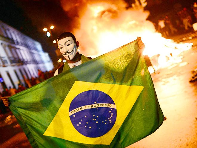 Восемь случаев протеста против Олимпийских игр