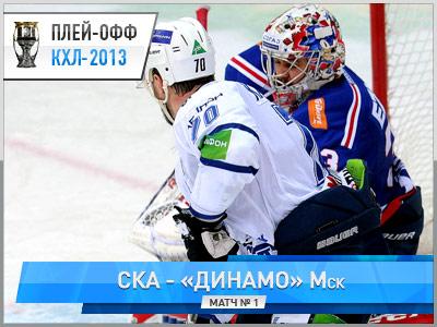 «Динамо» выиграло у СКА – 3:2