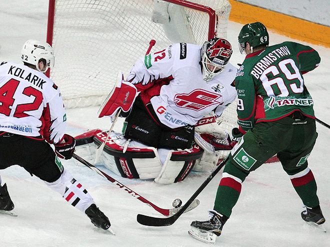 Плей-офф КХЛ. «Ак Барс» — «Авангард» — 4:0