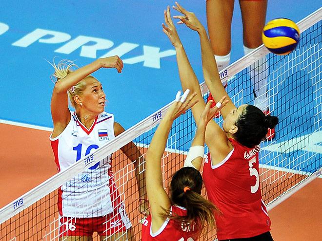 Волейбол. Гран-при. Россия – Турция – 2:3
